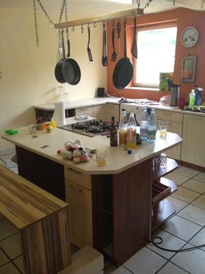 Selbstgebaute Küche die selbstgebaute küche füllt sich überschlagmühle